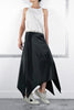 Pret A Gratitude Silk Satin Skirt