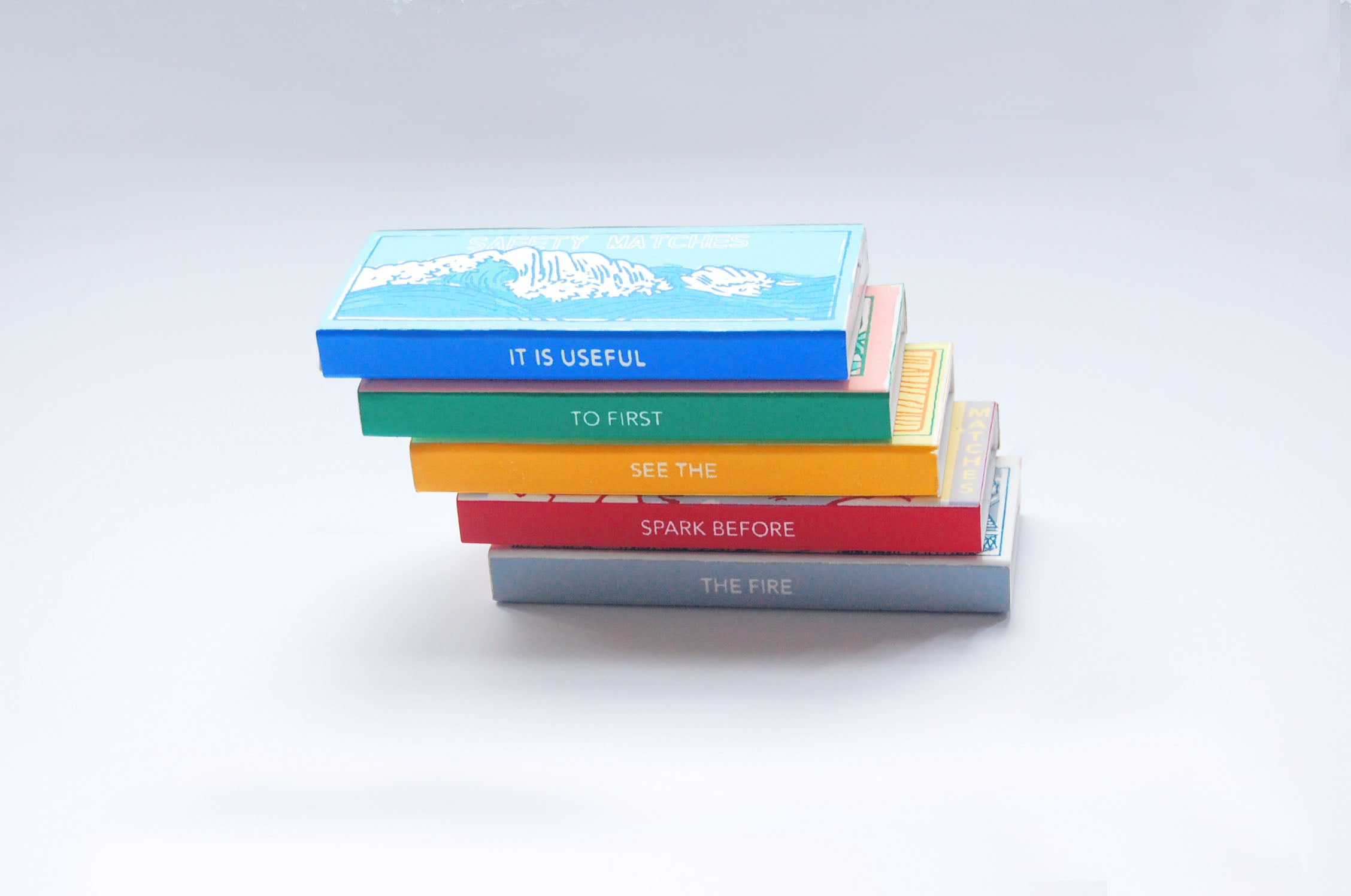 Limited edition japanese matchboxes by Keap Objectify