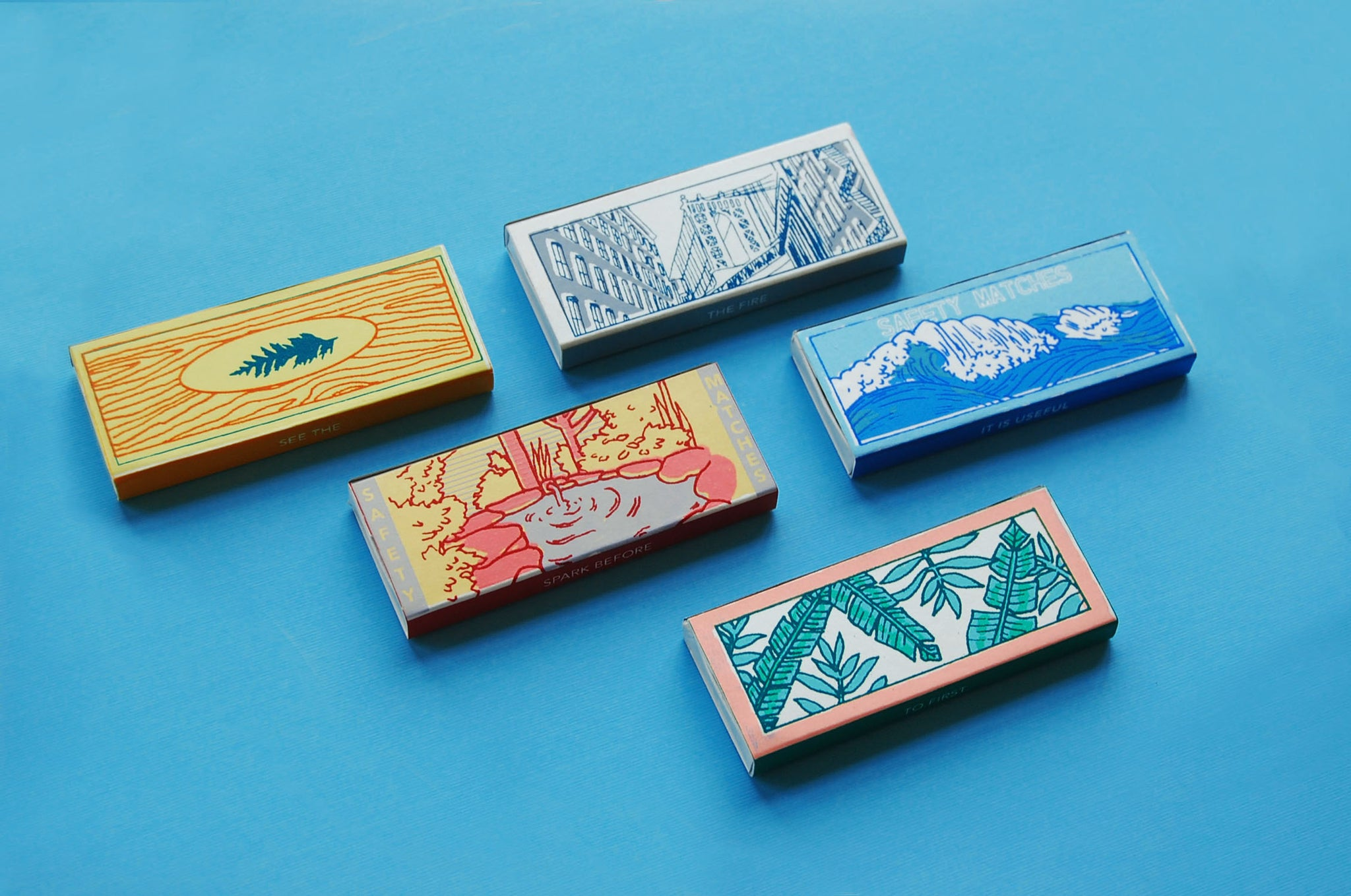 Keap limited edition japanese inspired matchboxes Objectify
