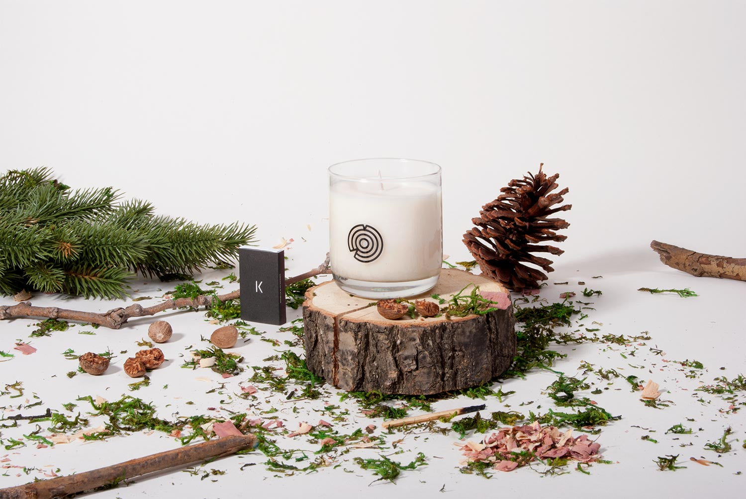 Hot Springs Coconut Wax Candle Keap
