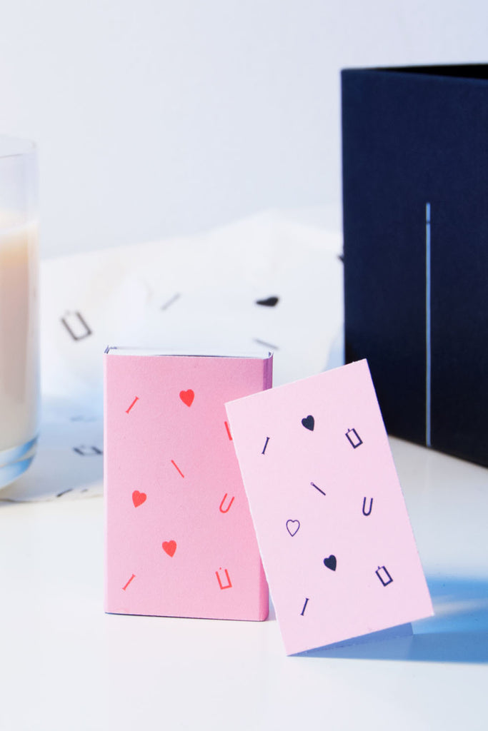 Valentine's Candle Set