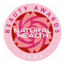 Best Hand Cream – 2009 from Natural Health Magazine Beauty Award