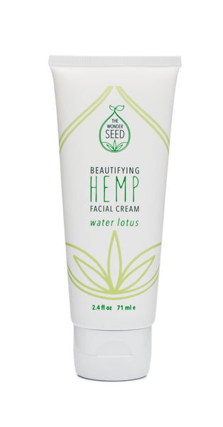 Hemp Facial Cream - Water Lotus