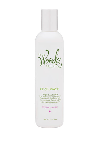 Hemp Body Wash - Fresh Jasmine