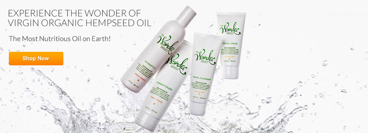 The Wonder Seed - Hemp Oil Skin Care Products