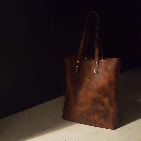 Directive Leather Tote