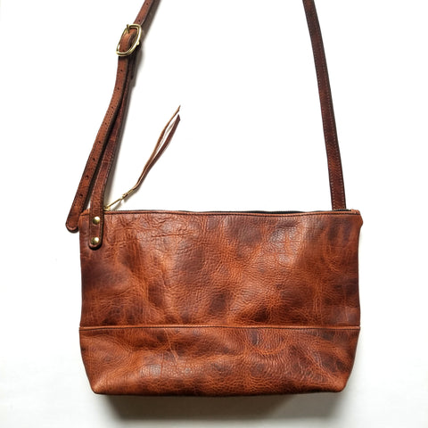 All Leather Cross Bag