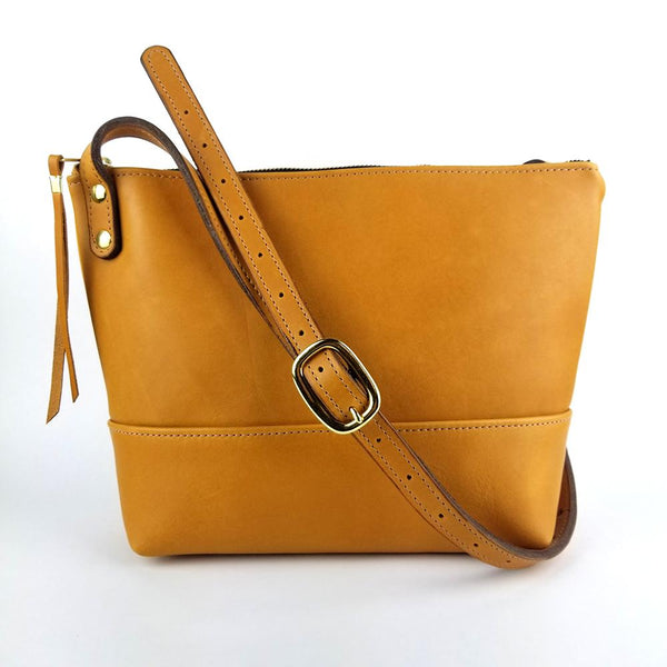 Petite Leather Cross Bag