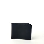 Load image into Gallery viewer, Matte Black Bifold Wallet by Directive. Minimal Card Wallet