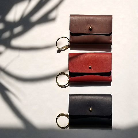 Mini Fold Wallet with Keychain
