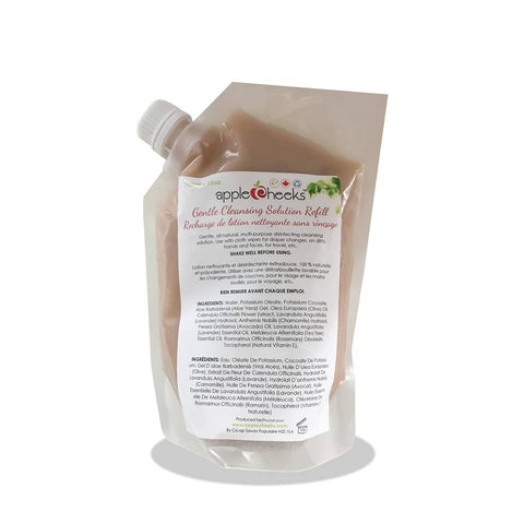 *NEW AppleCheeks Gentle Cleansing Solution Refill Pouch