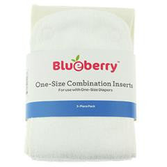 Blueberry One-Size Combination Inserts