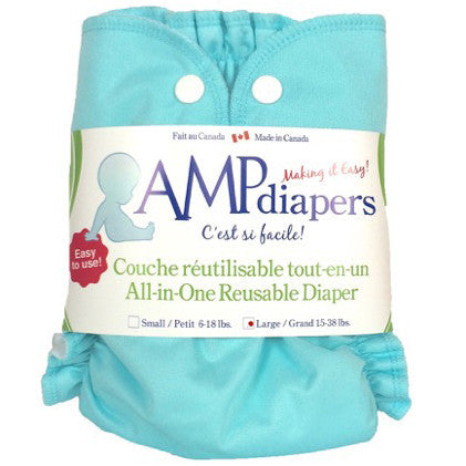 AMP Stay Dry All-in-One Diaper - Snap