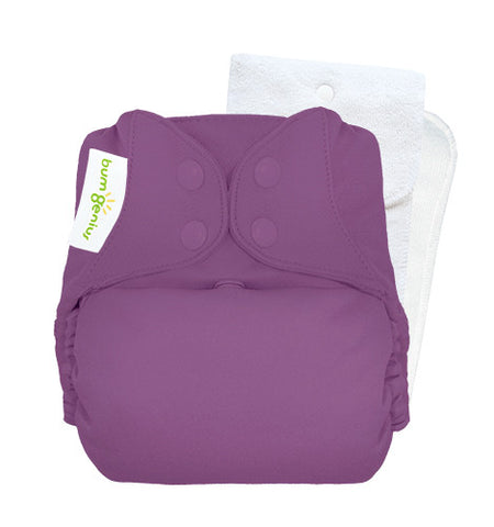 BumGenius Original One-Size Cloth Diaper 5.0 - Covers and inserts (sold separate -see description)