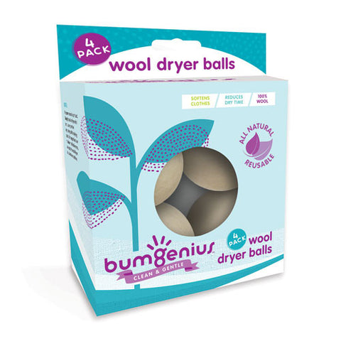 bumGenius  Wool  Dryer  Balls  (4 pack)
