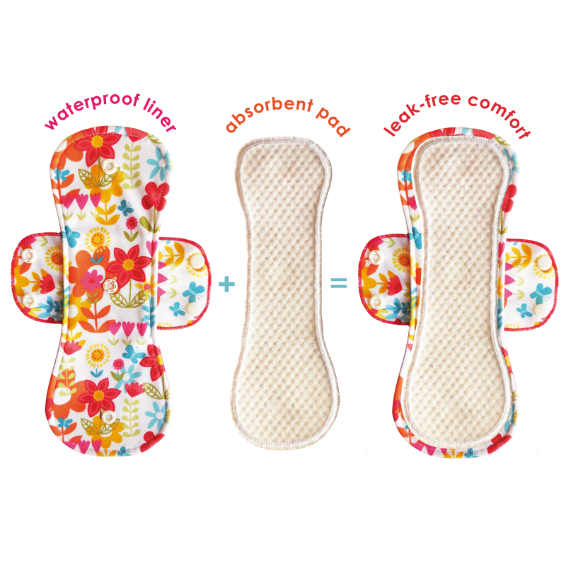 Bummis Fabulous Flo Pads - Single - assorted
