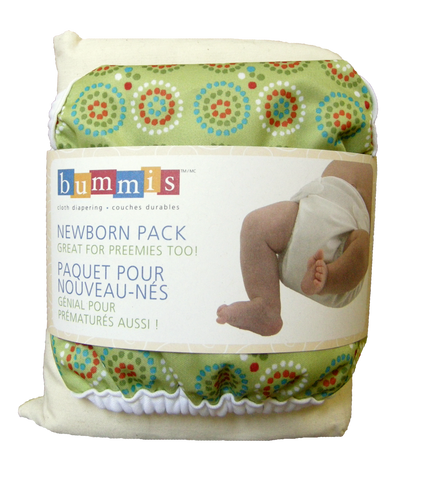 Bummis Organic Cotton Newborn Pack
