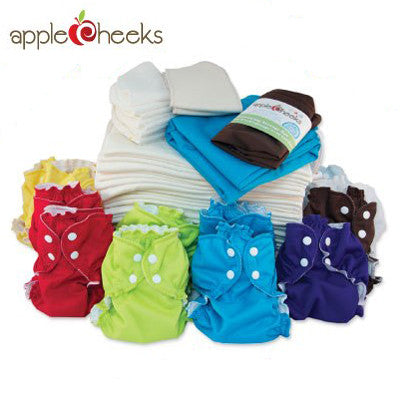 AppleCheeks Full-Time Kit: One Size Diaper