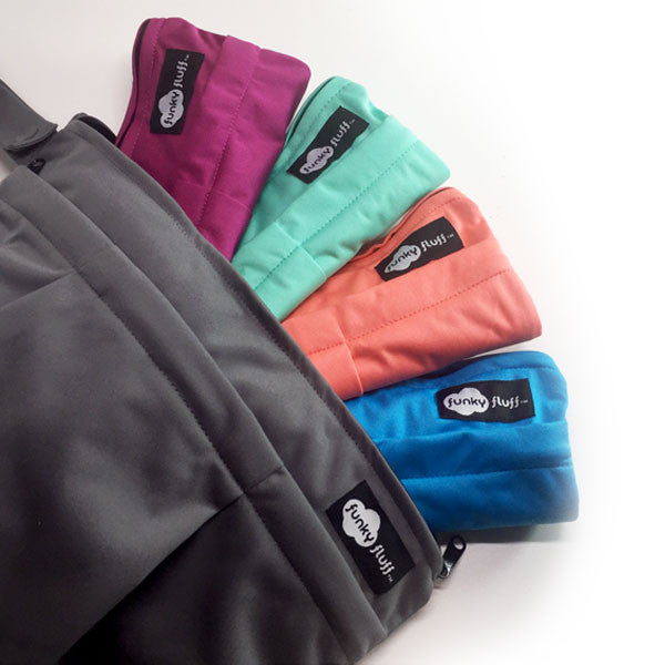 Funky Fluff - Double Pocket Wet Bag