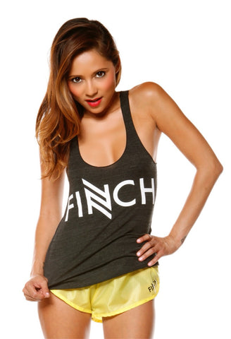 """FINCH Logo"" Racer Back Tank"