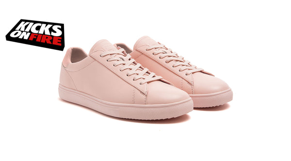 Kicks on fire sneakers bradley pink leather