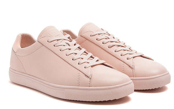 Clae Light Pink Oiled Leather Quality