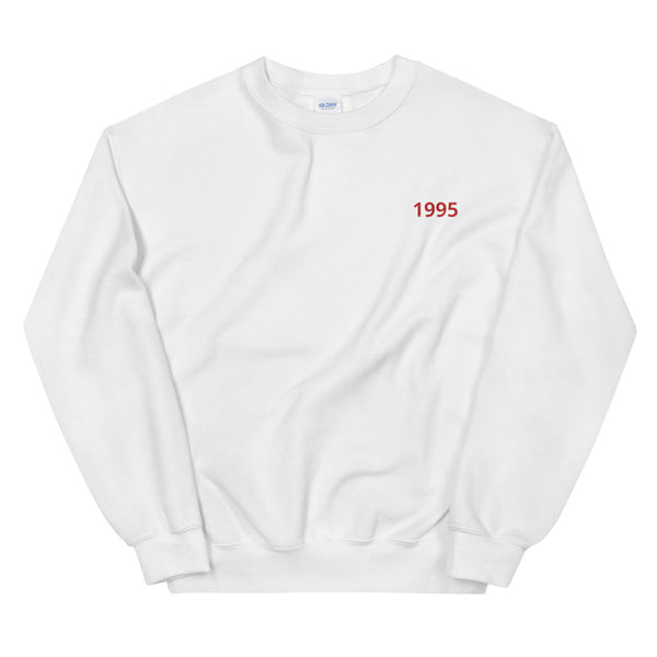 Personalised Year Sweater (White)