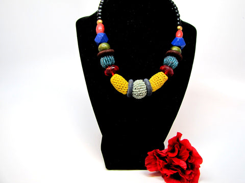ArtDeco Hand Crafted Necklace