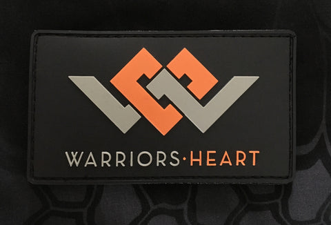 Warriors Heart PVC Patch