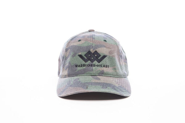 Warriors Heart Woodland Camo Front