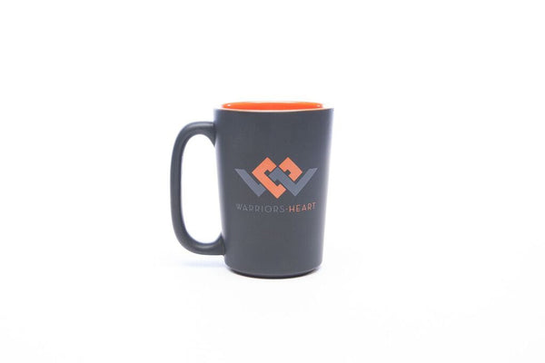 Warriors Heart Coffee Mug Left