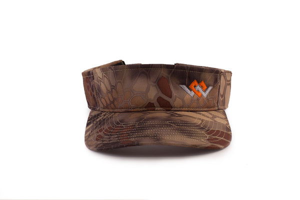 warriors heart visor kryptek highlander front