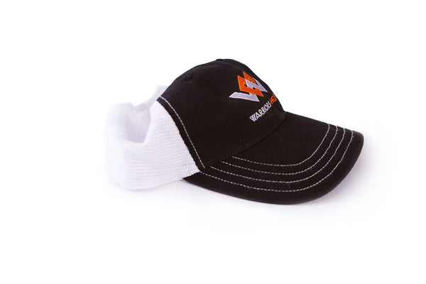 warriors heart relaxed trucker hat angle