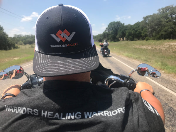 Warriors Heart Structured Trucker Hat
