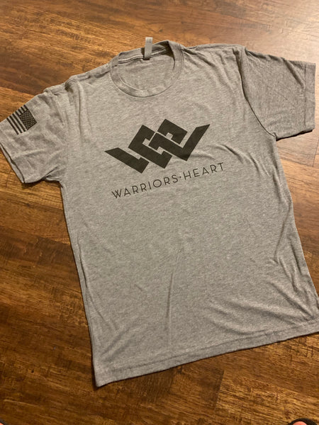 Warriors Heart Tri-Blend Shirt - K9 WITH COLOR