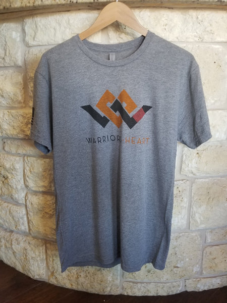 Warriors Heart Tri-Blend Shirt - Jiu Jitsu