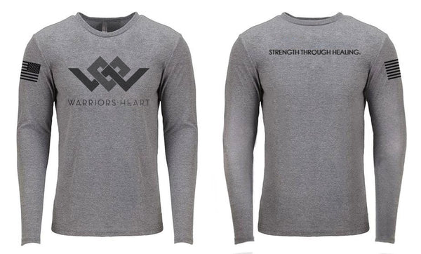 Long Sleeve Heather Gray Shirt