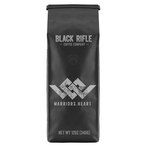 warriors heart blend coffee black rifle