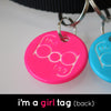 The Bog Tag™ – I'm a Girl