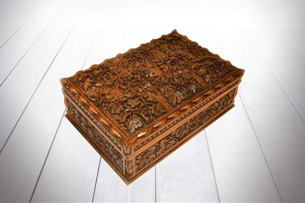 "Chinar Box 12"" x 8"" - Kaarigar Handicrafts Inc."