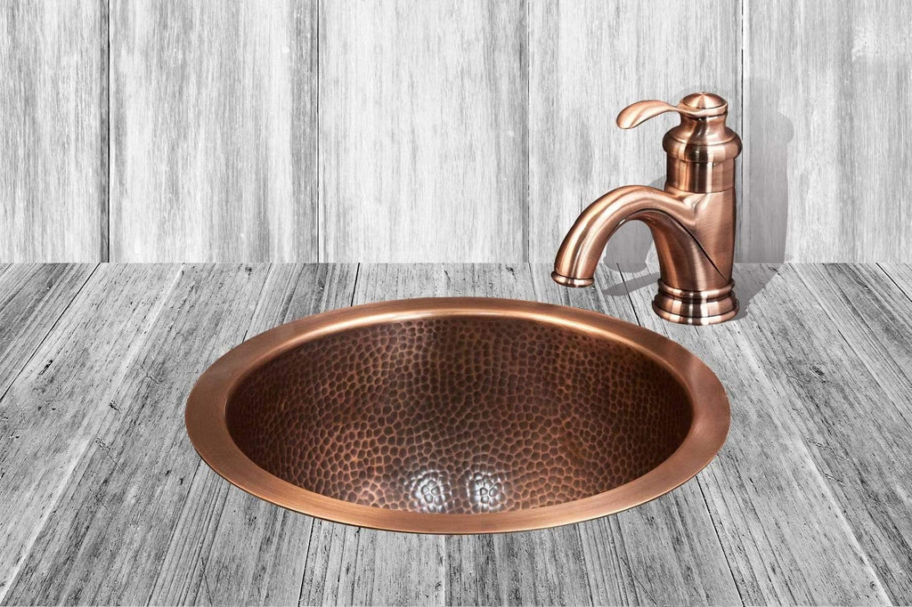 Copper Basin, Anti Microbial Basin, Handmade Copper Basin, Home Decor