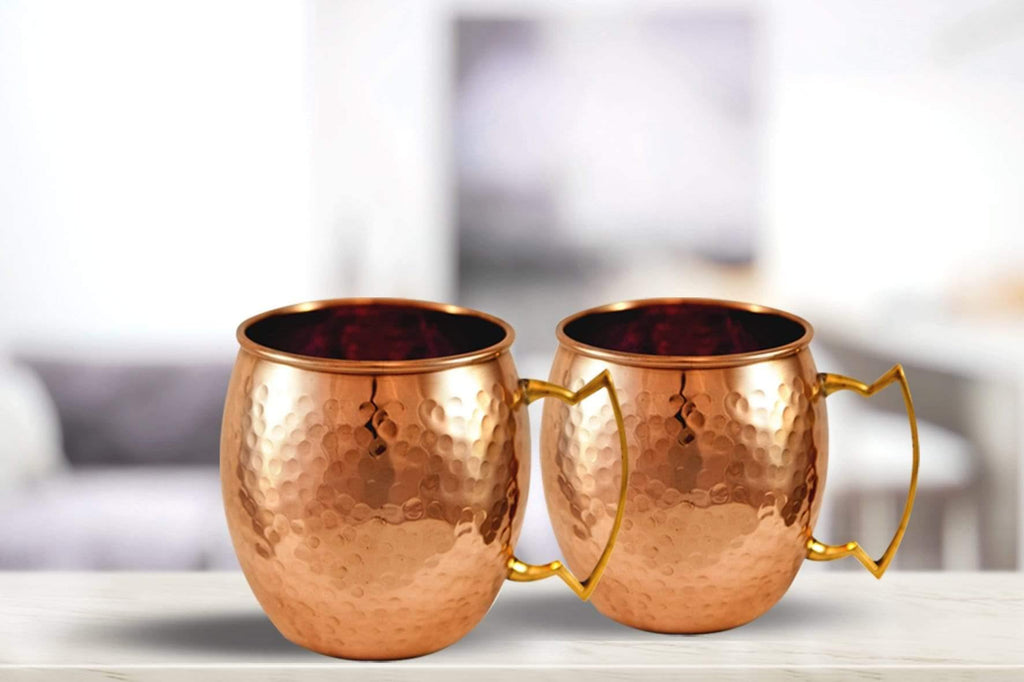 Copper Moscow Mule Mug - Set of 2