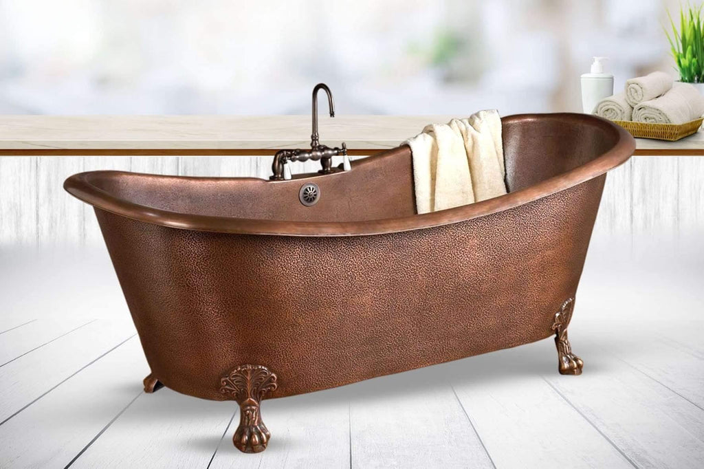 Copper Bathtub, Customized Copper Bathtub, Handmade Copper Bathtub, Bath decor