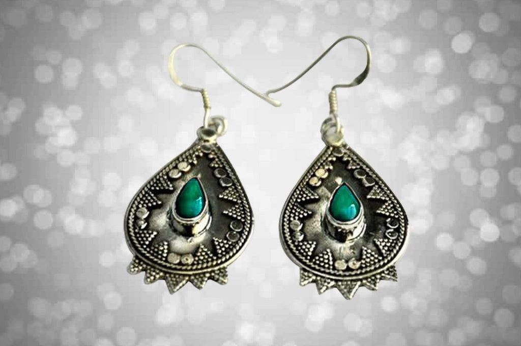 Savita Earrings - Kaarigar Handicrafts Inc.