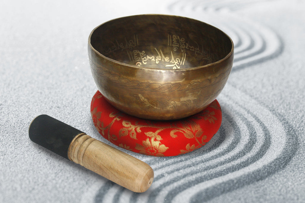 Handmade Singing Bowl, Sound Therapy, Healing, Meditation, Stress Relief