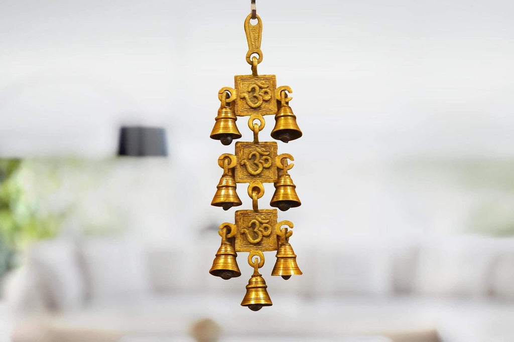 Brass Bell Door Hanging - Kaarigar Handicrafts Inc.