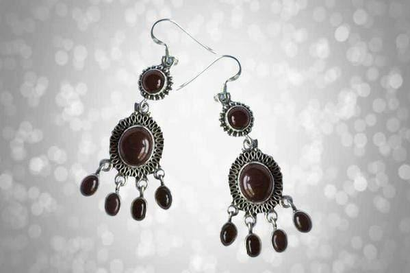 Leena Earrings - Kaarigar Handicrafts Inc.