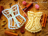 Lingerie cookie cutter