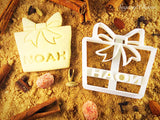 Personalized Christmas gift cookie cutter