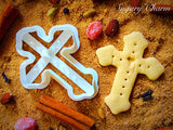 Cross with Heart cookie cutter